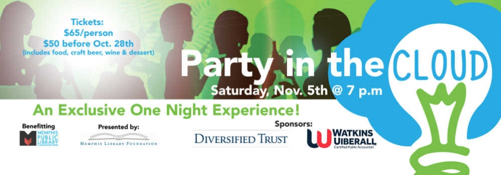 Party in the Cloud on Saturday Nov 5th at 7pm