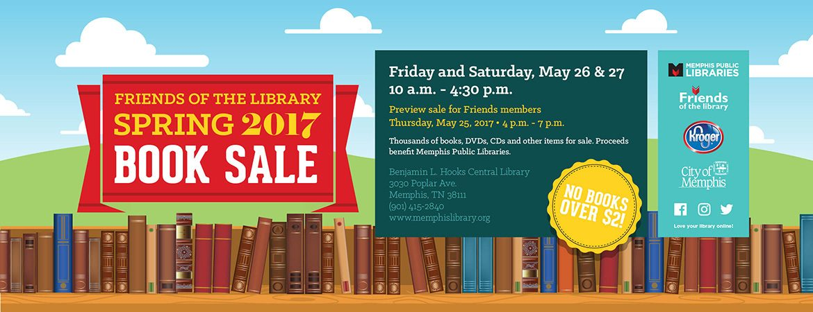 Friends of the Library Spring 2017 Book Sale