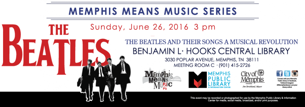 Memphis Means Music Series: The Beatles
